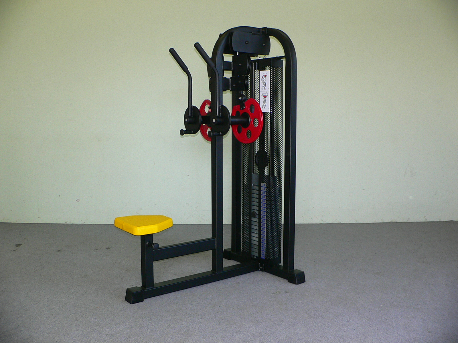 Crossower machine