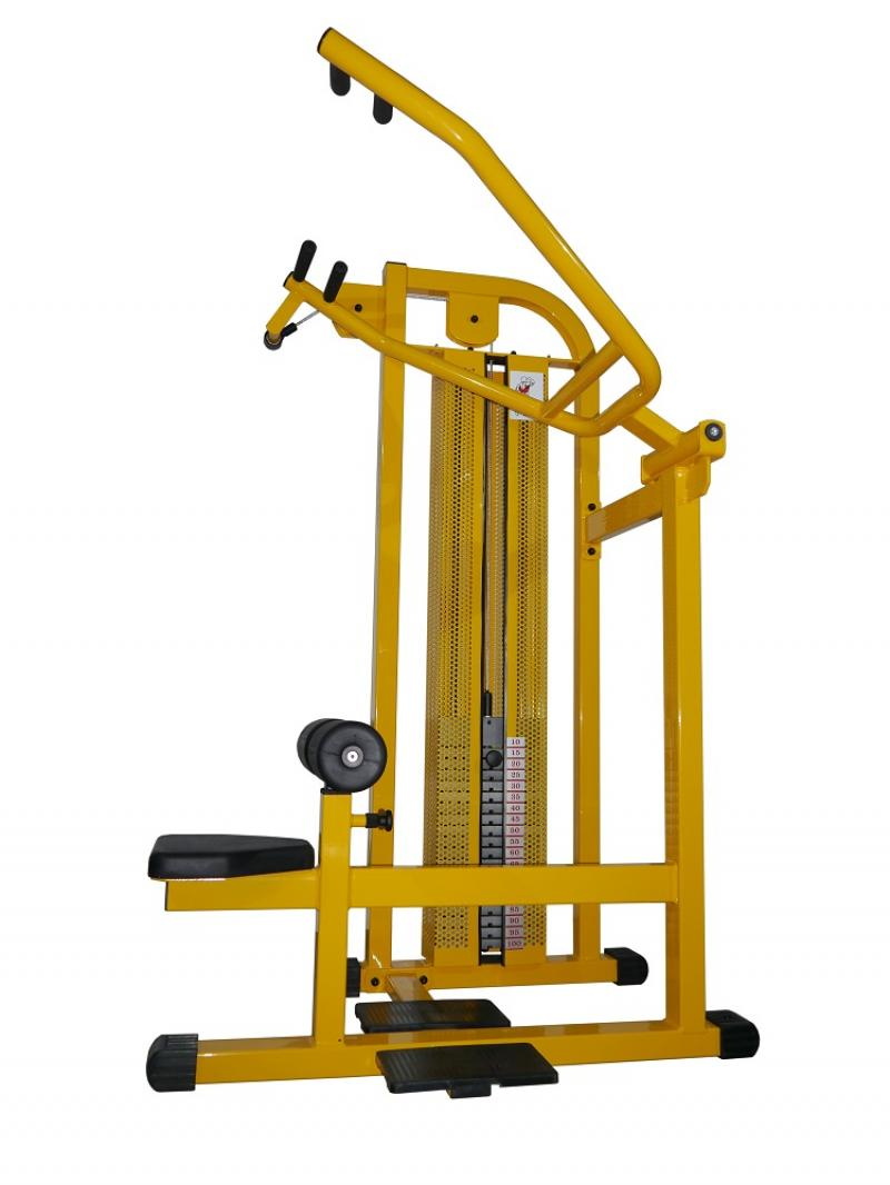Lat pully machine