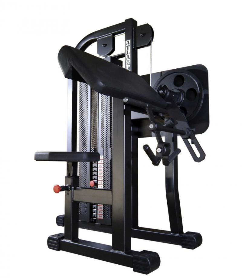 Biceps machine, 45°